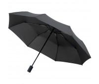 Зонт складной AOC Mini с цветными спицами ver.2, синий
