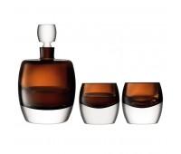 Набор для виски Whisky Club, коричневый