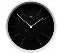 Часы настенные Neo, черные с белым