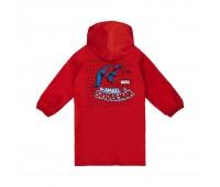 Дождевик детский Amazing Spider-Man, красный