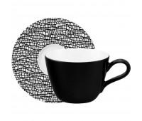 Кофейная пара Life Fashion, черная