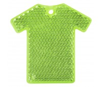 Светоотражатель «Футболка», зеленый