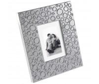 Рамка для фотографий, серебристая