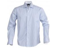 Рубашка мужская в полоску RENO, голубая