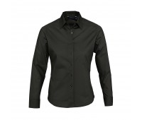 Рубашка женская с длинным рукавом EDEN 140 черная