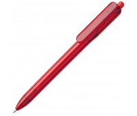 Ручка шариковая Bolide Transparent, красная