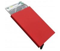 Футляр для пластиковых карт Motion, красный
