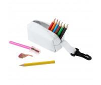 Набор Hobby с цветными карандашами и точилкой, белый