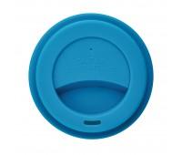 Стакан с крышкой PLA, 350 мл, синий