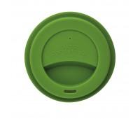Стакан с крышкой PLA, 350 мл, зеленый