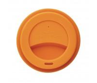 Стакан с крышкой PLA, 350 мл, оранжевый