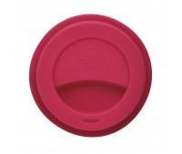 Стакан с крышкой PLA, 350 мл, розовый