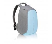Рюкзак Bobby Compact с защитой от карманников, голубой