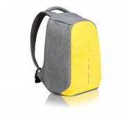 Рюкзак Bobby Compact с защитой от карманников, желтый