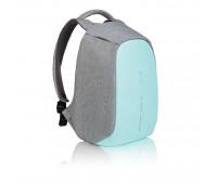 Рюкзак Bobby Compact с защитой от карманников, бирюзовый