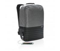 Рюкзак для ноутбука Swiss Peak с RFID и защитой от карманников