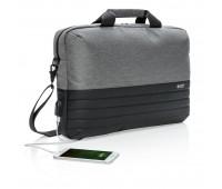 Сумка для ноутбука Swiss Peak с RFID-защитой