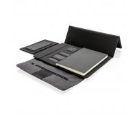 Чехол для планшета Kyoto с беспроводной зарядкой, 10, черный