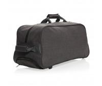 Дорожная сумка на колесах Basic, черная