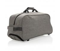 Дорожная сумка на колесах Basic, серая