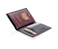 Обложка для паспорта Swiss Peak с защитой от сканирования RFID
