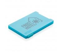 Держатель RFID для пяти карт, синий