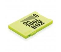 Держатель RFID для пяти карт, зеленый