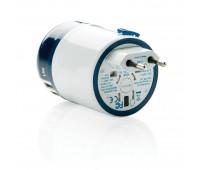 Заземленный адаптер для розеток с USB World Travel