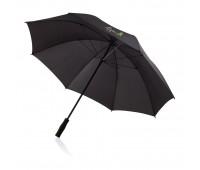 """Зонт-трость антишторм  Deluxe 30"""", черный"""
