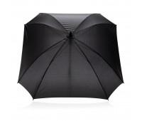 """Механический квадратный зонт XL с местом для логотипа, 27"""""""