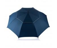 Зонт-трость антишторм Hurricane 27, синий